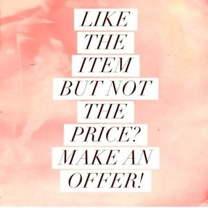 All prices are flexible!